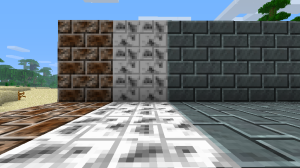 A few of the new decorative blocks.