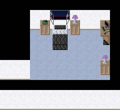 Not in-game, from the map editor. You get one guess as to who gets abducted out of that bed at the start of the game.